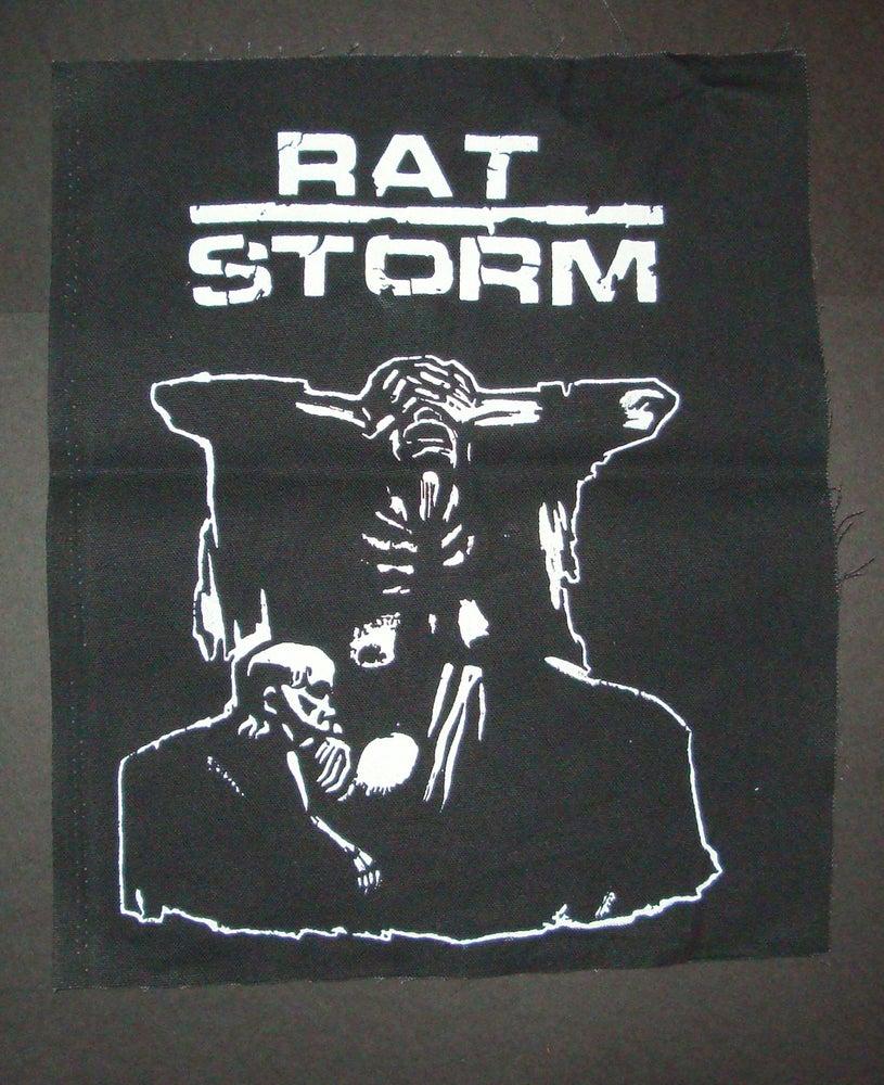 Image of Kathe Kolwitz Rat Storm Back Patch