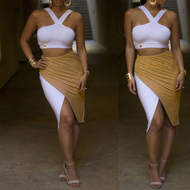 Image of Cute sexy two piece cute dress