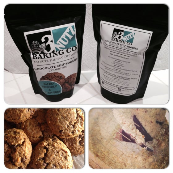 Image of Chocolate Chip Kookies - Paleo Friendly and Gluten Free Baking Mix