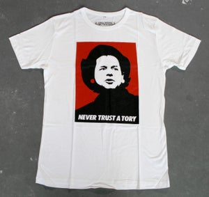 Image of 'Never Trust A Tory' T-Shirt