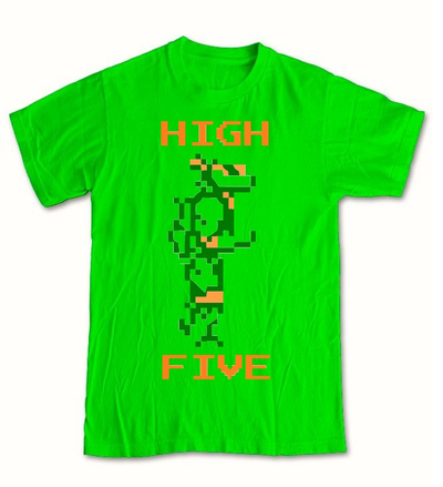 Image of HIGH FIVES IN A HALF SHELL