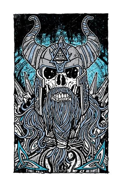Image of Viking Warrior Print