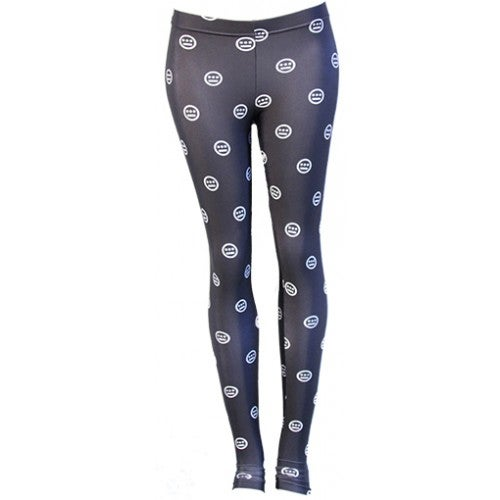 Image of Hieroglyphics - All Over Print Women's Legging's, Black/White