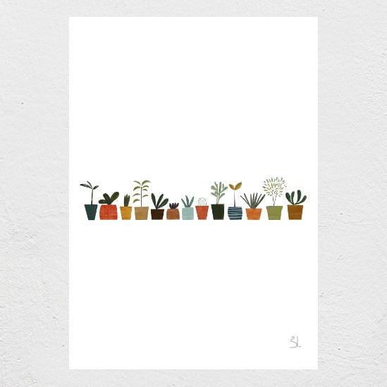 Image of Plants Print