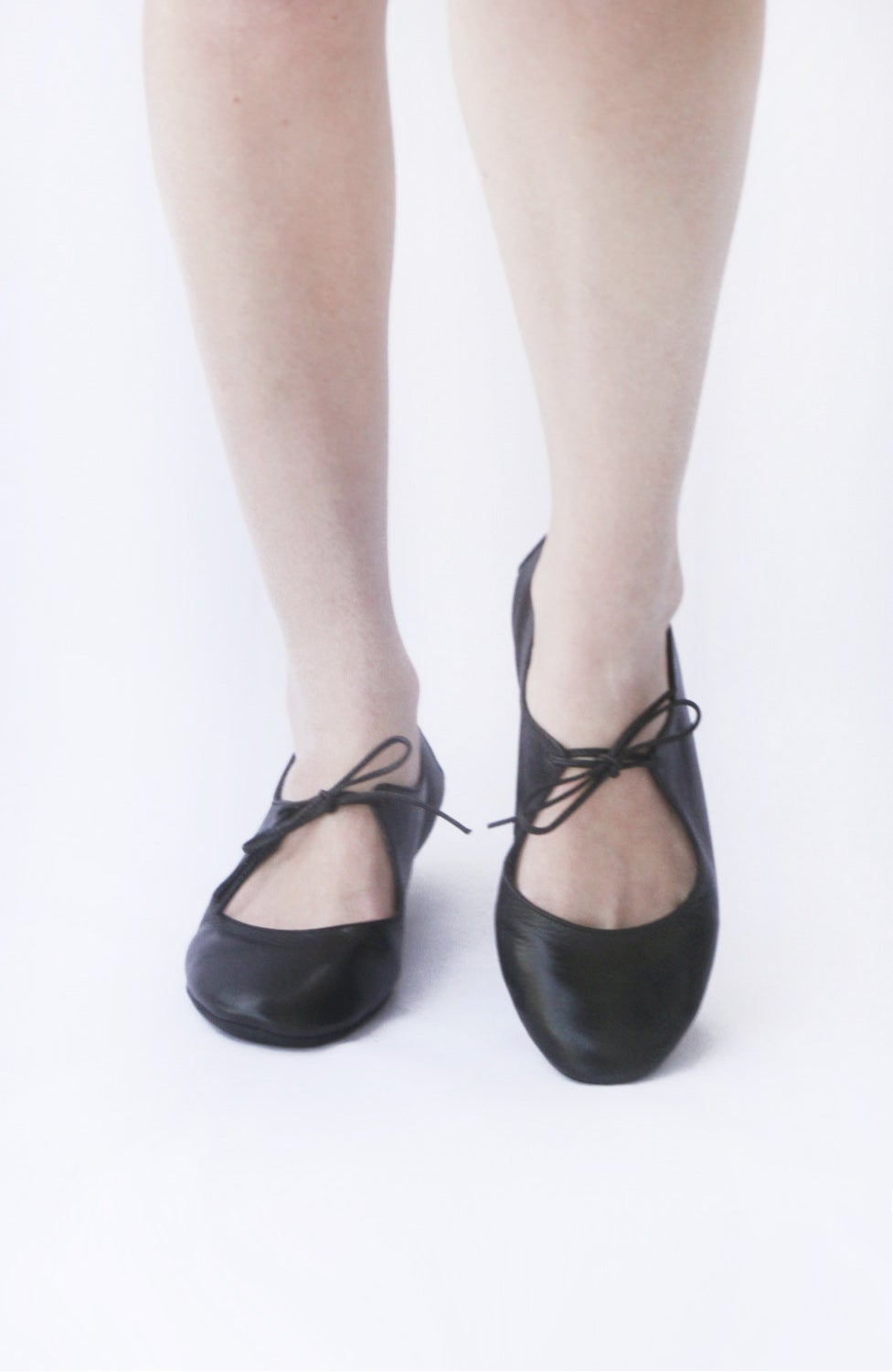 Image of Ballet flats - Night in Black