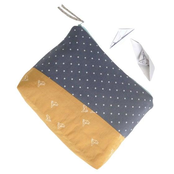 Image of Aurèle Liberty zippered bag | Trousse de toilette Aurèle