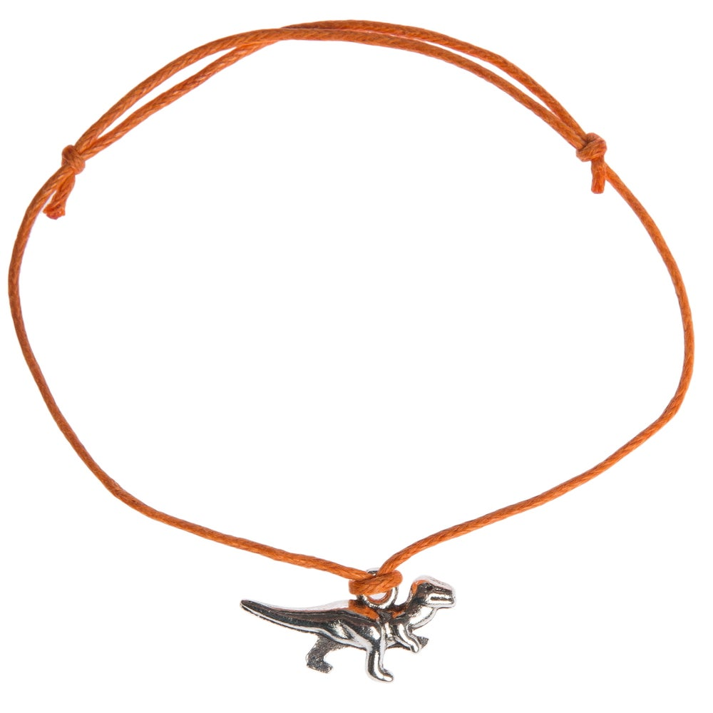 Image of Dinousaur Adjustable Cord Bracelet