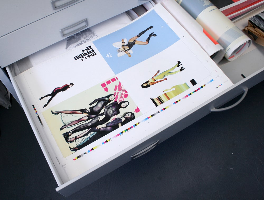 Image of Murray+Vern Catalogue Printer's Proof/Flat (1 of 6)