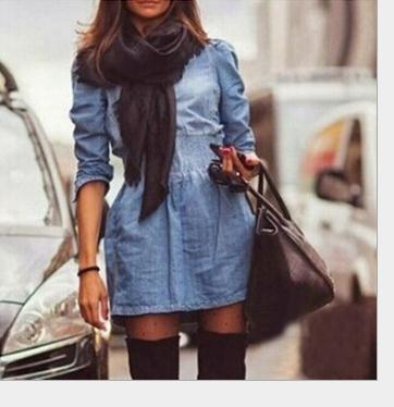 Image of Cute cowboy fashion hot dress