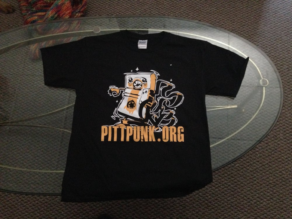 "Image of Pittpunk ""Tapeguy"" T-Shirt"