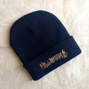 Image of Millionaires *GOLD EMBROIDERED* Black Beanie
