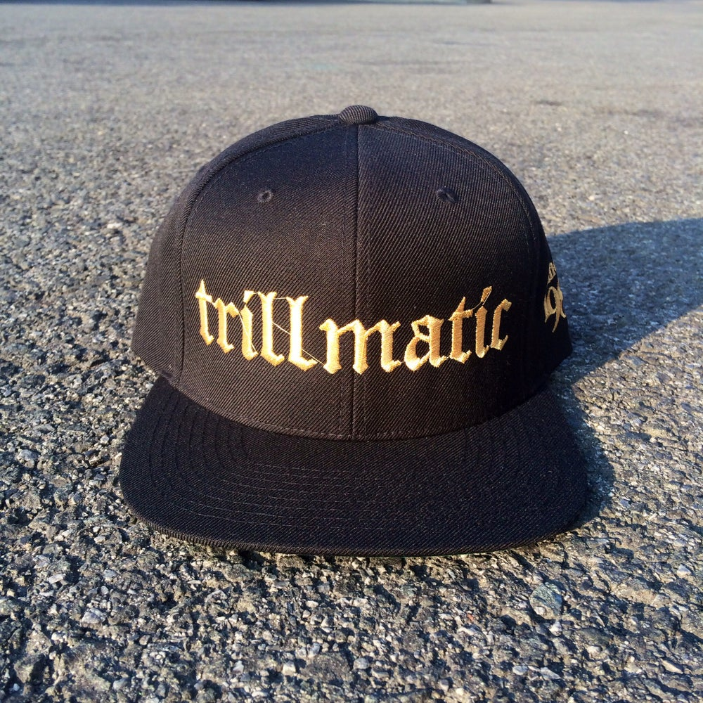 Image of Black x Gold TrillMatic SnapBack