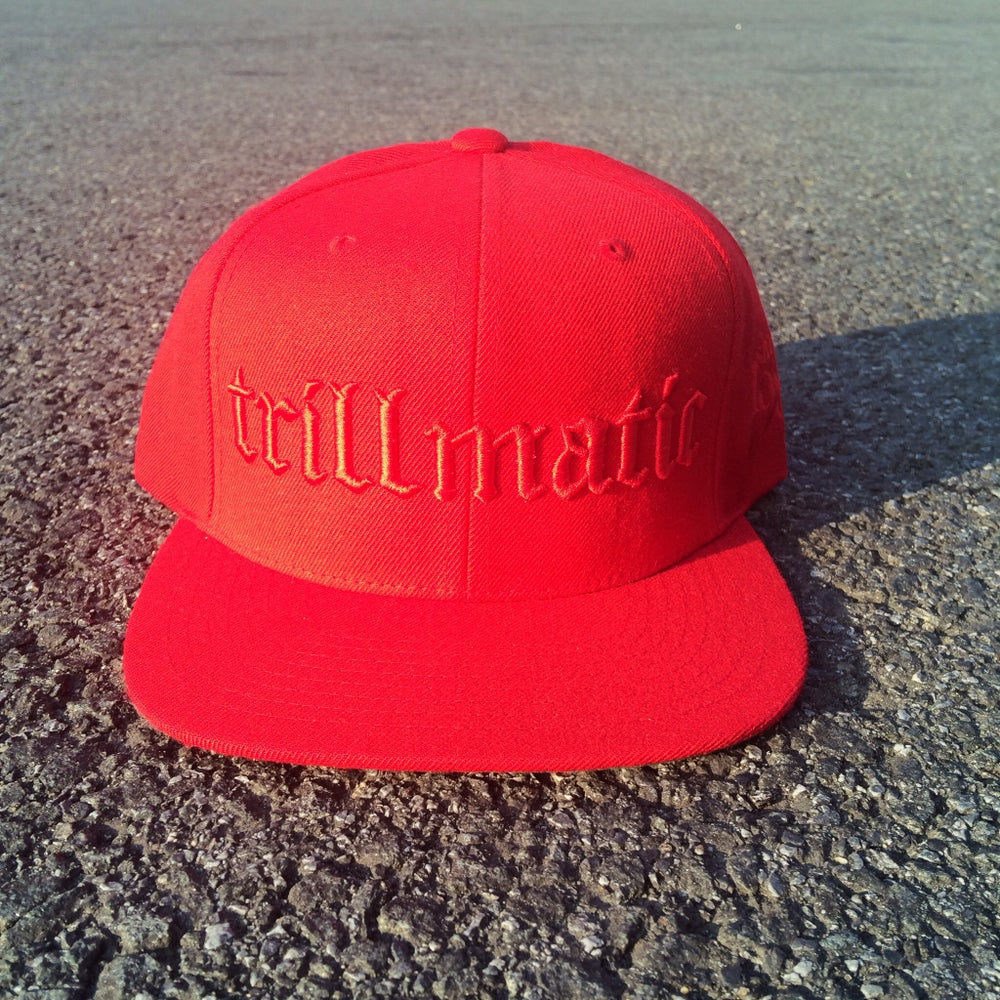 Image of QS Red x Red Trillmatic SnapBack