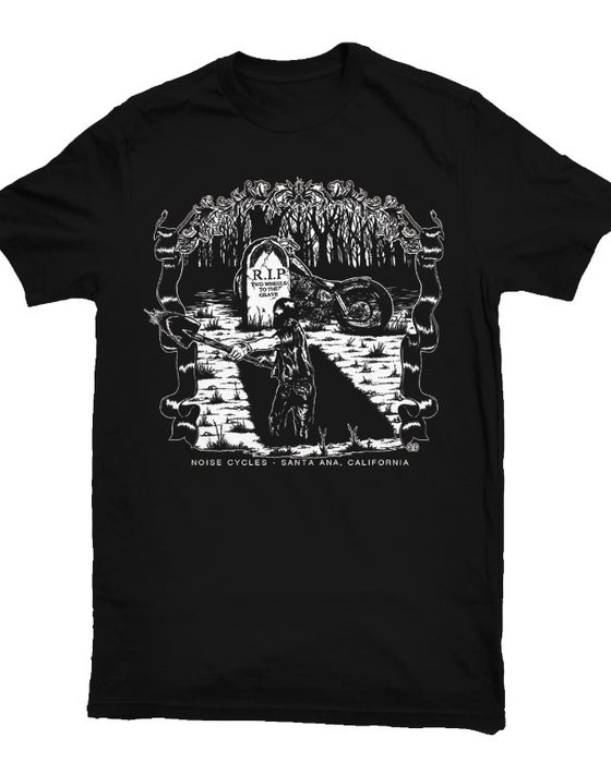 Image of Graveyard - black