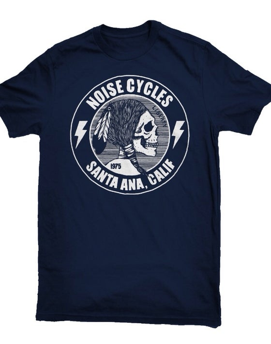 Image of Noise liberty shirt - navy blue