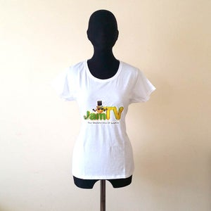Image of Womens White T-Shirt