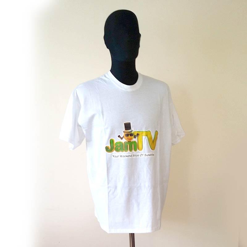 Image of Mens White T-shirt