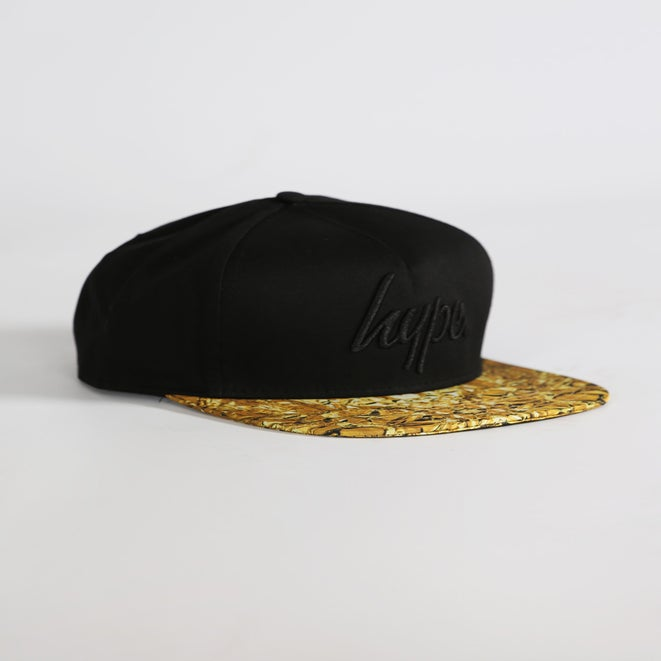 Image of HYPE. LIQUID GOLD SNAPBACK