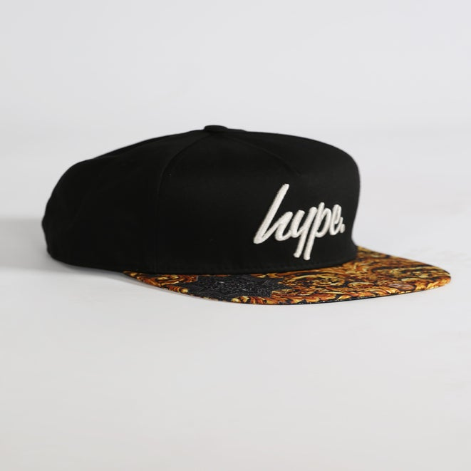 Image of HYPE. REGAL GOLD SNAPBACK