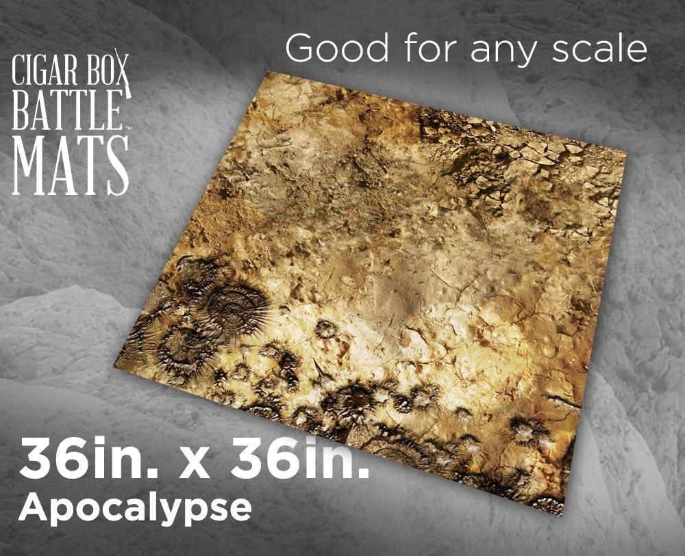 Image of Apocalypse Battle Mat -- 3x3 -- #127