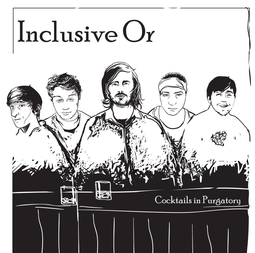 "Image of Inclusive Or - Cocktails in Purgatory - 12"" LP w/free digital download"