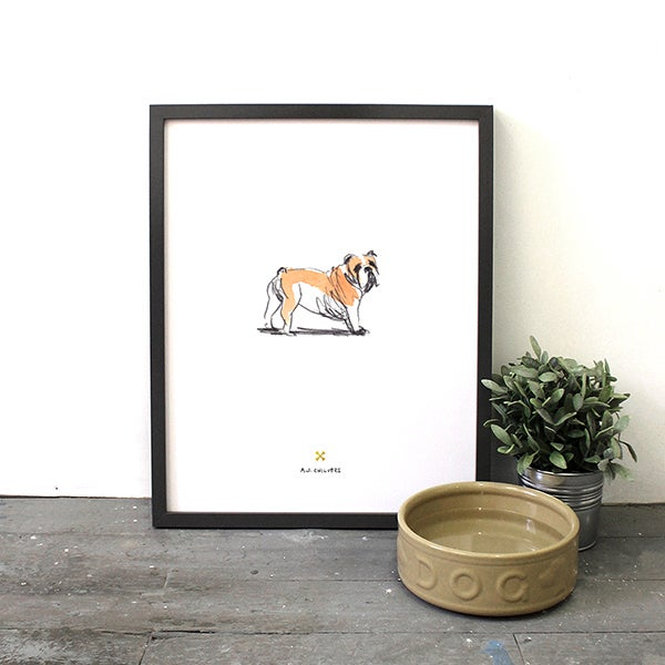Image of For the Love of Dog - Bulldog