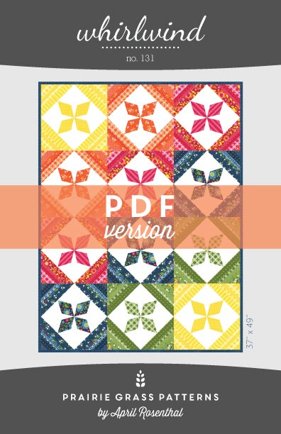 Image of Whirlwind: PDF Quilting Pattern #131
