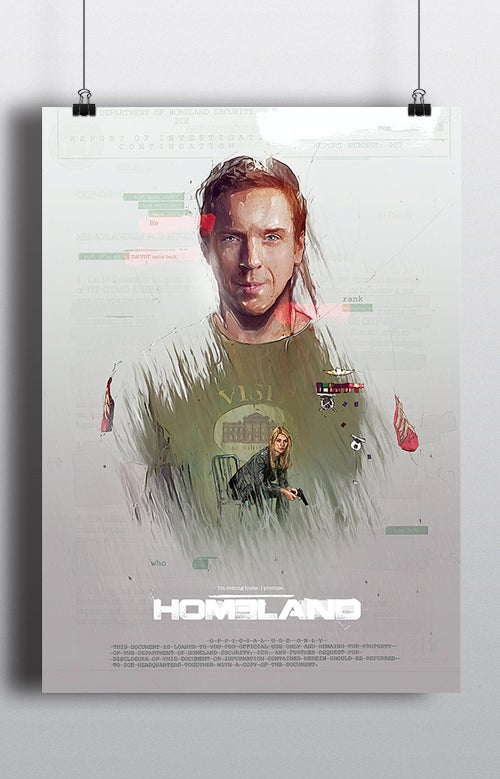 Image of Homeland Poster print