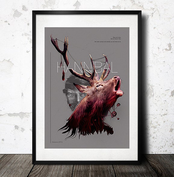 Image of Hannibal Poster print
