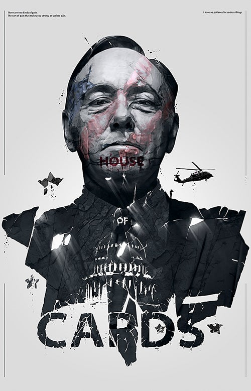 Image of House of Cards Poster print