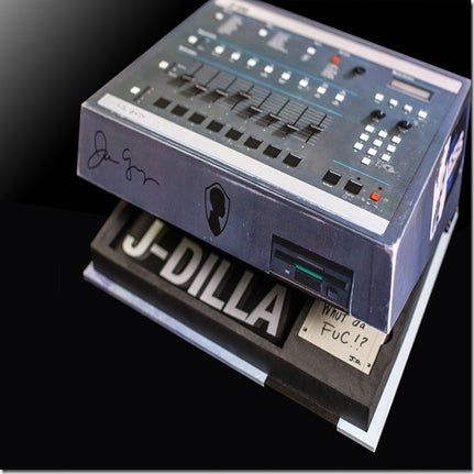 Image of J Dilla-The King of Beats: The Ma Dukes Yancey Collector's Edition SP 1200 Box Set