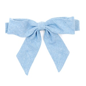 Image of pale denim {lady bow) *two left