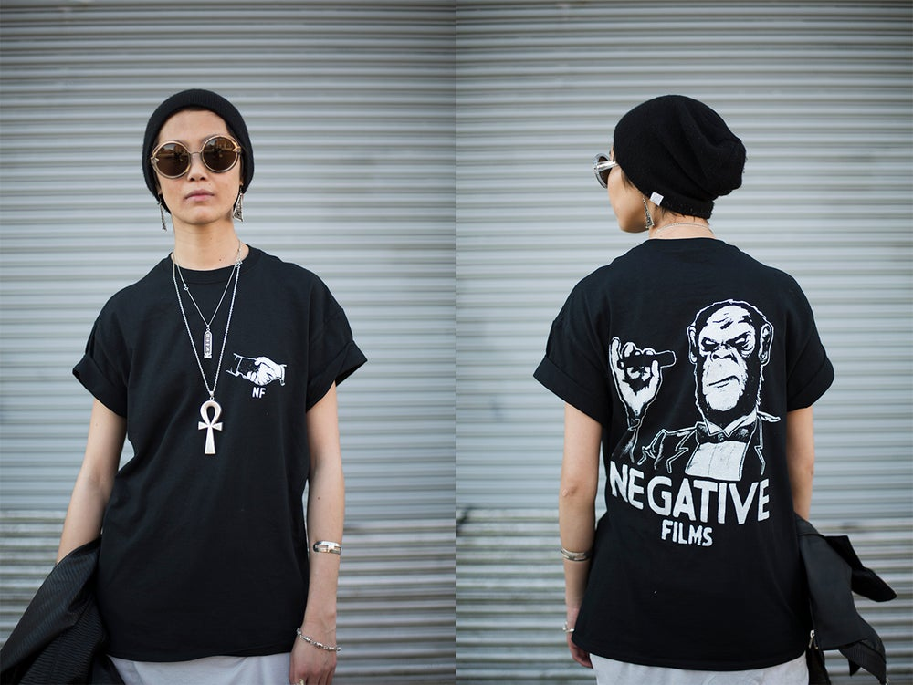 Image of Negative Films logo tee