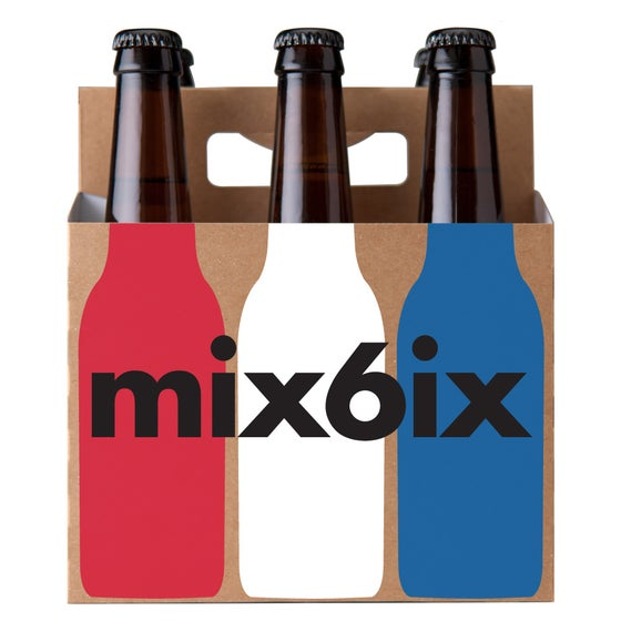 Image of Mix 6ix Red, White and Blue