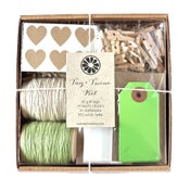 Image of Green Tag + Twine Kit