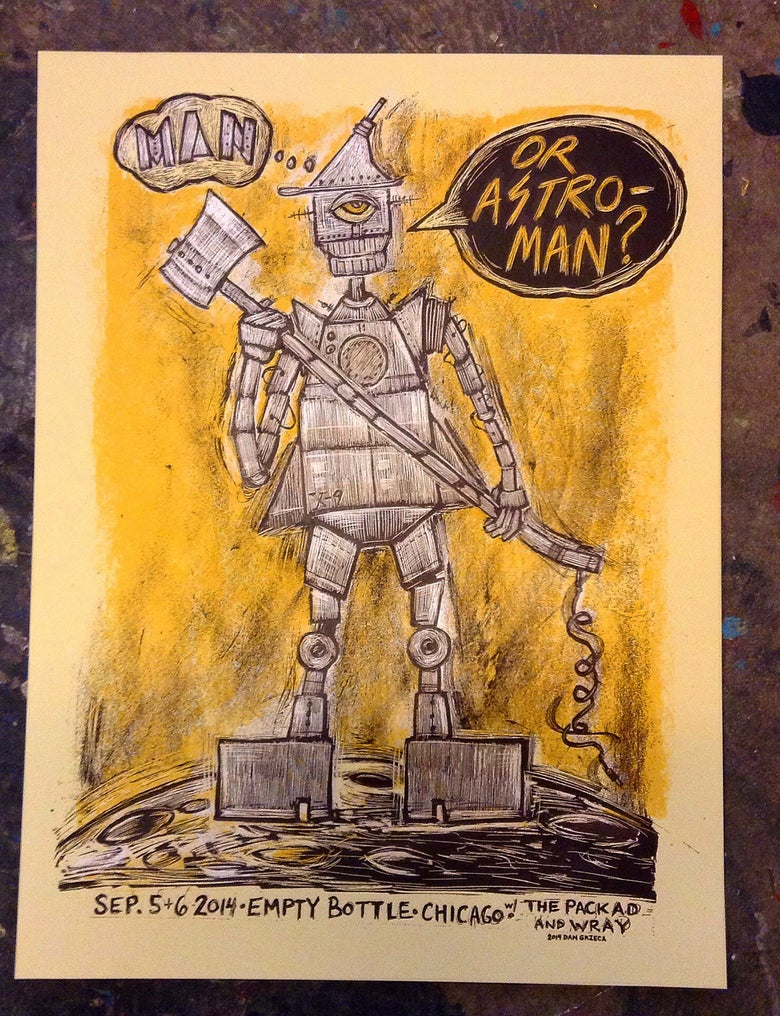 Image of Man..or Astro-Man