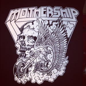 Image of Mothership shirt - Skull Bike