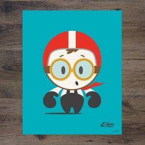 "Image of Ohno Vroom ""The Driver"" print"