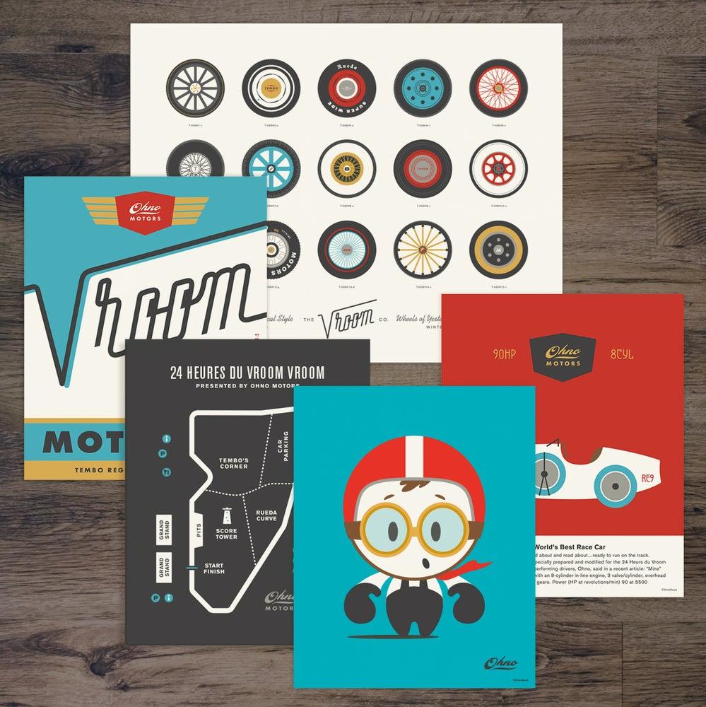 Image of OhNo Vroom Full Print Set