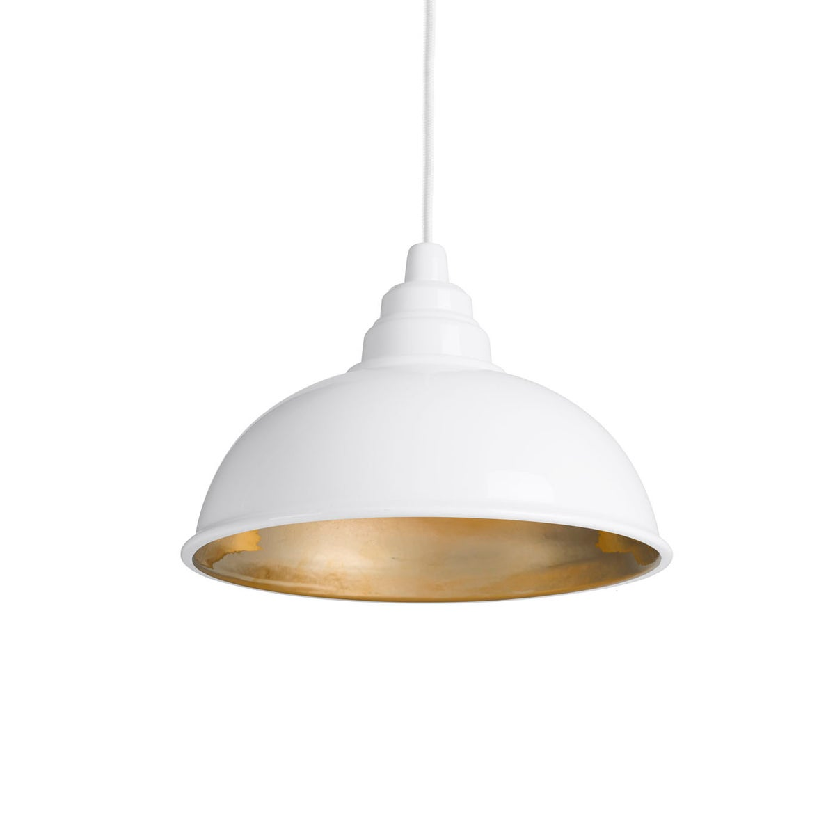 Botega white gold interior enrico zanolla design studio for Lampe suspension blanche