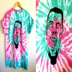 Image of Kanye West is a melt - Green/pink spiral