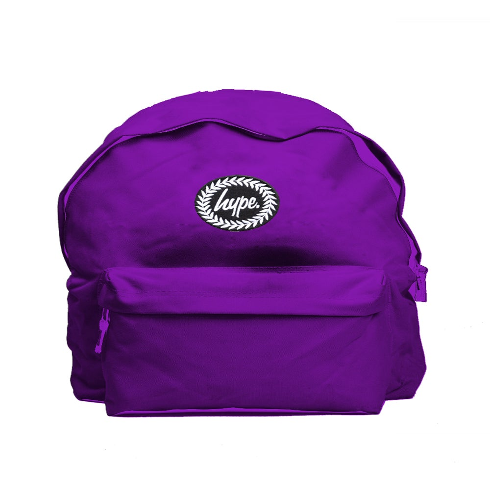 Image of HYPE. PURPLE BACKPACK