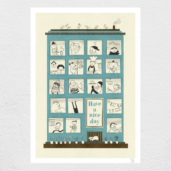 Image of Magic House Print
