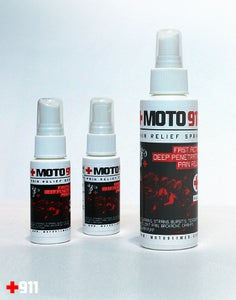 Image of MOTO 911 SPRAY PAIN RELIEVER - 4 OUNCE BOTTLE