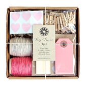 Image of Light Pink Tag + Twine Kit