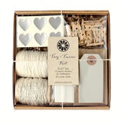 Image of Silver Tag + Twine Kit