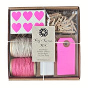 Image of Neon Pink Tag + Twine Kit