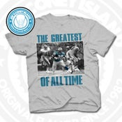 Image of GOAT Barry Sanders Grey Tee