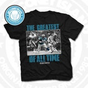 Image of GOAT Barry Sanders Black Tee