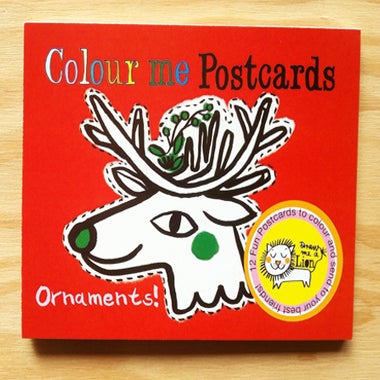 Image of Ornament Colouring Postcards